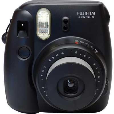 Image of Fuji Instax Mini 8 with 10 Shots - Black
