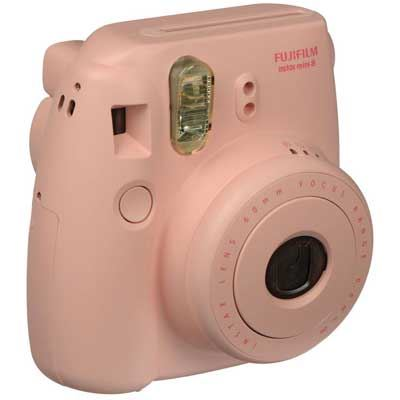 Image of Fuji Instax Mini 8 with 10 Shots - Pink