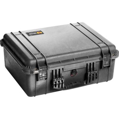Peli 1550 Case with Dividers Black