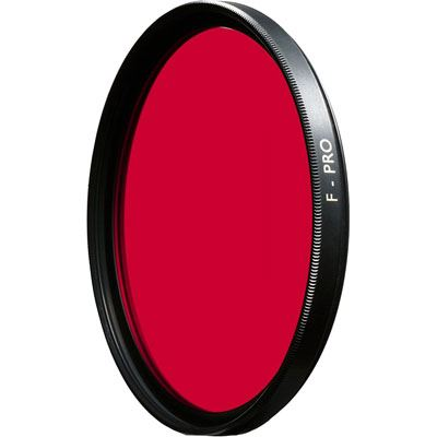 B+W 105mm F-Pro 091 Red Dark 630 MRC Circular Filter