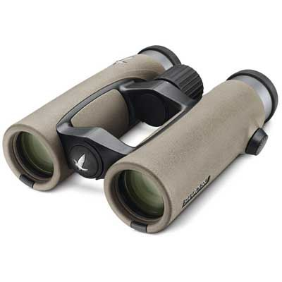 Swarovski EL FieldPro 10x32 Swarovision Binoculars - Sand-Brown