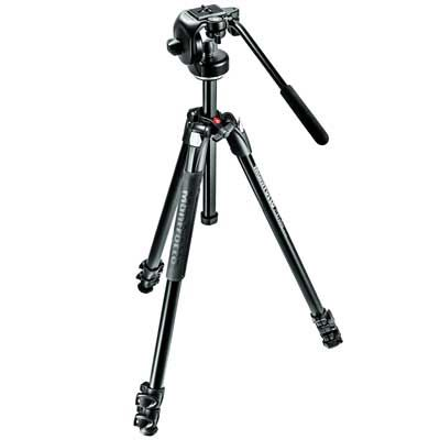 Used Manfrotto MK290XTA3-2W Aluminium Tripod Kit