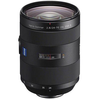 Sony 24-70mm F2.8 ZA SSM II Carl Zeiss Vario-Sonnar T* Zoom Lens
