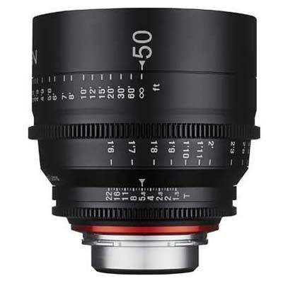Samyang 50mm T1.5 XEEN Cine Lens - Nikon Fit