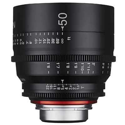 Samyang 50mm T1.5 XEEN Cine Lens - Canon Fit