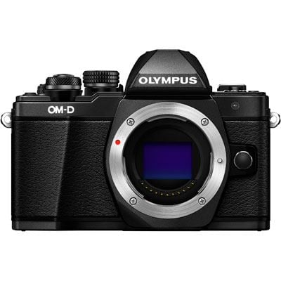 Used Olympus OM-D E-M10 Mark II Digital Camera Body - Black