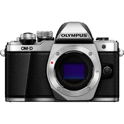 Olympus OMD EM10 Mark II Digital Camera Body  Silver