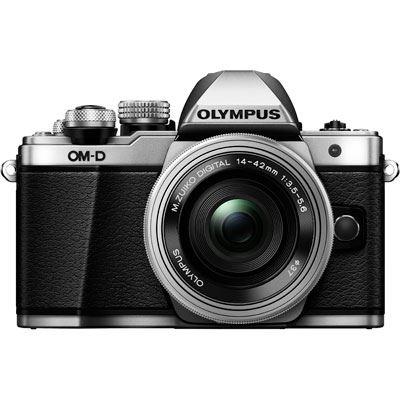 Olympus OMD EM10 Mark II Digital Camera with 1442mm Lens  Silver