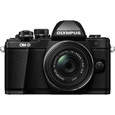 Olympus OMD EM10 Mark II Digital Camera with 1442mm Lens  Black