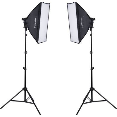 Image of Interfit F5 Two-Head Fluorescent Lighting Kit