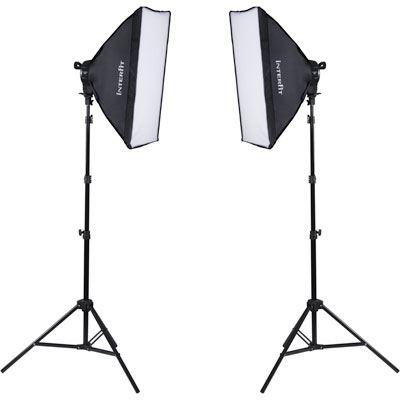 Image of Interfit F5 Two-Head Fluorescent Lighting Kit