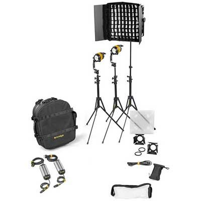 Dedo 3 Head 40w DLED4.1 Bi Colour LED and Felloni2 Combination Kit