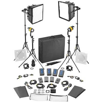 Dedo 4 light Kit - Bicolour DC (Basic) (2x DLED / 2x Felloni)