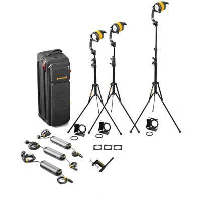 Image of Dedo 3 Head 40W DLED Daylight Basic Soft Case Kit