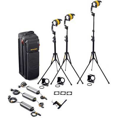 Dedo 3 Head 40w DLED4.1 Tungsten Basic Kit with Soft Case