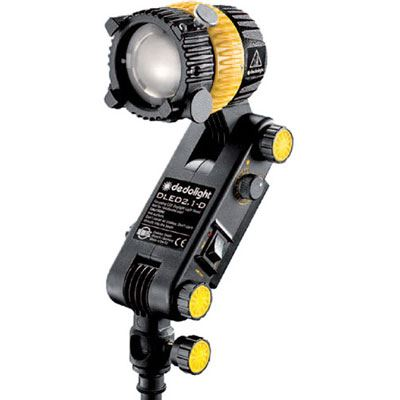 Dedo DLED2.1 20w Daylight Focusing LED Light Head with Intergrated Ballast