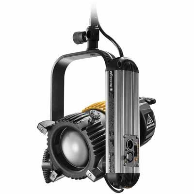Dedo DLED9.1 90w Tungsten Focusing LED Light Head with DMX - Studio Edition