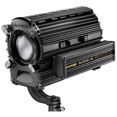 Dedo DLED12.1 225w Daylight Focusing LED Light Head with DMX