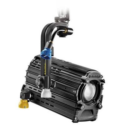 DLED12.1 225w Daylight Focusing LED Light Head with DMX and Pole Operation