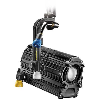 Dedo DLED12.1 225w Tungsten Focusing LED Light Head with DMX and Pole Operation