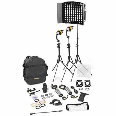 Dedo 3 light Kit - Bicolour AC (Standard) (2x DLED / 1x Felloni)