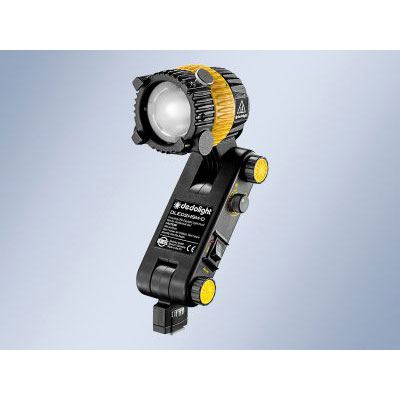 Dedo DLED2.1 20w Daylight Focusing LED Light Head with Integrated Ballast and Hot Shoe Mount