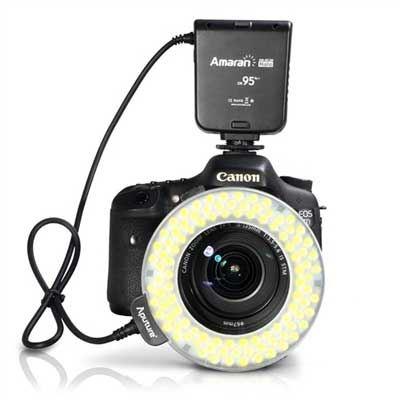 Image of Aputure Amaran Halo LED Ringlight - Canon Fit