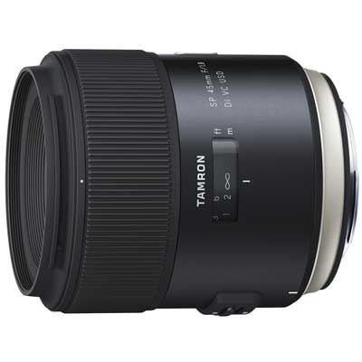 Tamron 45mm f1.8 SP Di VC USD Lens  Canon Fit