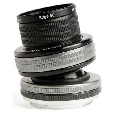 Image of Lensbaby Composer Pro II + Edge 50 - Micro Four Thirds Fit