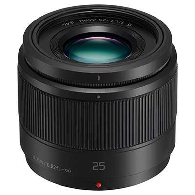 Panasonic 25mm f1.7 LUMIX G ASPH Black Lens  Micro Four Thirds Fit