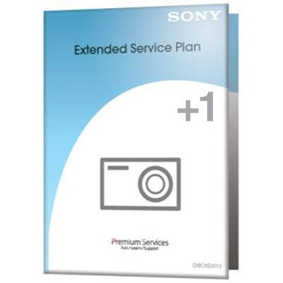 Sony 1 Year Extended Warranty  Sony Cameras  Camcorders and lenses