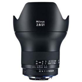 Zeiss 21mm f2.8 Milvus ZE Lens - Canon Fit