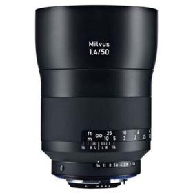 Zeiss 50mm f1.4 Milvus ZE Lens - Canon EF Mount