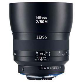 Zeiss 50mm f2 Makro-Planar Milvus ZE Lens - Canon Fit