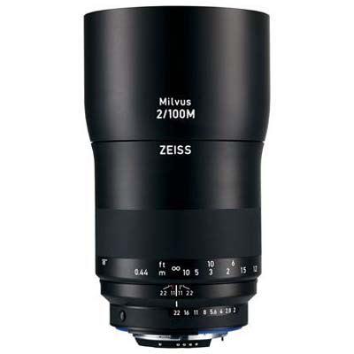 Zeiss 100mm f2 Makro-Planar Milvus ZE Lens - Canon EF Mount