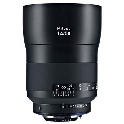 Zeiss 50mm f1.4 Milvus ZF.2 Lens – Nikon Fit