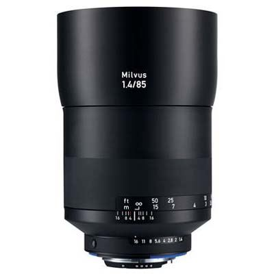 Zeiss 85mm f1.4 Milvus ZF.2 Lens  Nikon Fit