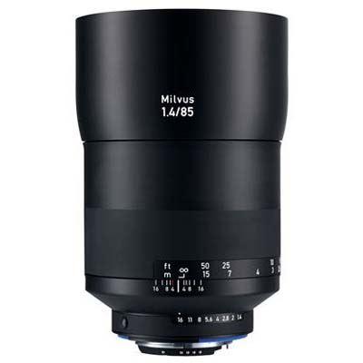 Zeiss 85mm f1.4 Milvus ZF.2 Lens - Nikon F Mount