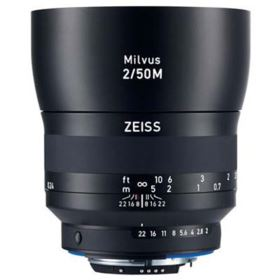 Zeiss 50mm f2 Makro-Planar Milvus ZF.2 Lens - Nikon Fit