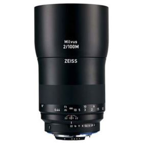 Zeiss 100mm f2 Makro-Planar Milvus ZF.2 Lens - Nikon Fit