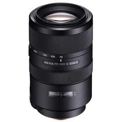 Sony 70-300mm f4.5-5.6 G SSM II Lens