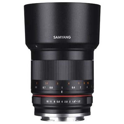 Image of Samyang 50mm f1.2 AS UMC CS Lens - Canon M
