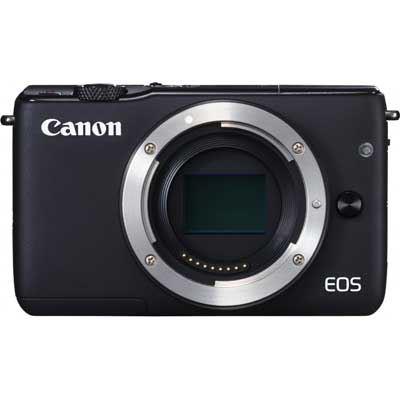 Canon EOS M10 Digital Camera Body - Black