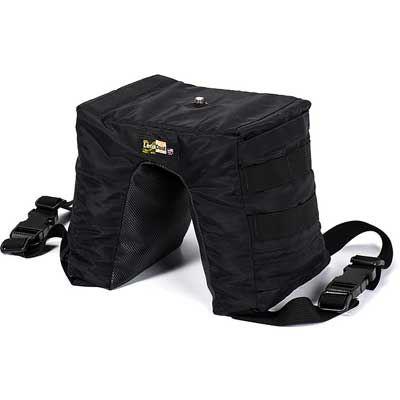 LensCoat LensSack Pro Jr Bean Bag - Black