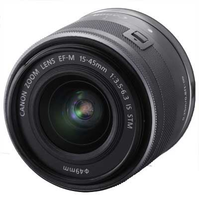 Image of Canon EF-M 15-45mm f3.5-6.3 IS STM Lens - Silver