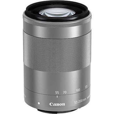 Image of Canon EF-M 55-200mm f4.6-6.3 IS STM Lens - Silver
