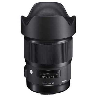 Sigma 20mm f1.4 DG HSM Art Lens - Canon Fit