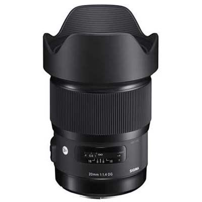 Sigma 20mm f1.4 DG HSM Art Lens - Nikon Fit
