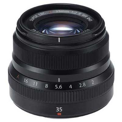 Fujifilm XF 35mm f2 R WR Fujinon Lens - Black