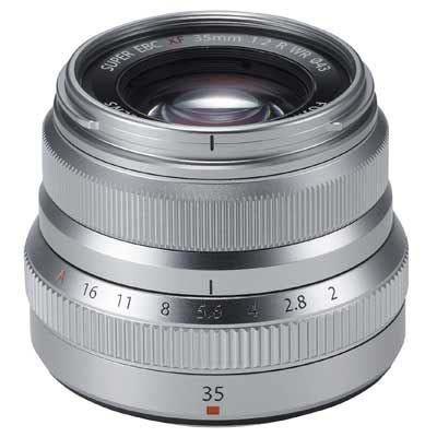 Fujifilm XF 35mm f2 R WR Lens - Silver